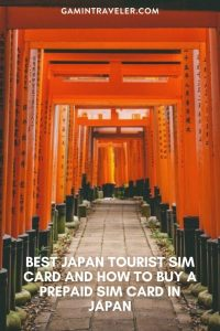 BEST JAPAN TOURIST SIM CARD AND HOW TO BUY A PREPAID SIM CARD IN JAPAN