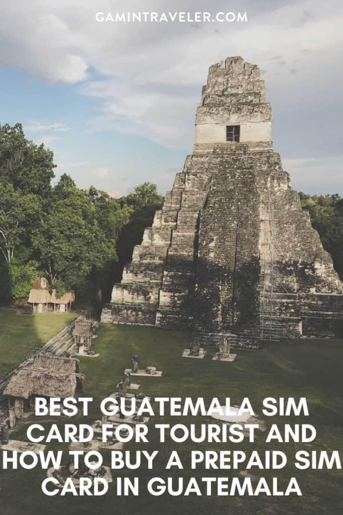 Guatemala sim card, guatemala prepaid sim card, sim card in guatemala, Guatemala tourist sim card, Guatemala sim card for tourist