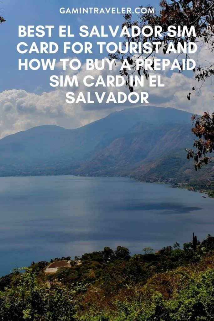 sim card el Salvador, el Salvador sim card, el Salvador sim card for tourist