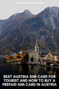 BEST AUSTRIA SIM CARD FOR TOURIST AND HOW TO BUY A PREPAID SIM CARD IN AUSTRIA