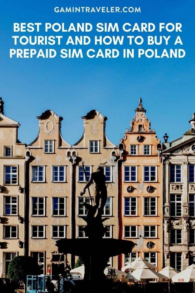 poland tourist sim card, poland sim card, prepaid sim card poland, sim card poland, poland sim card for tourist