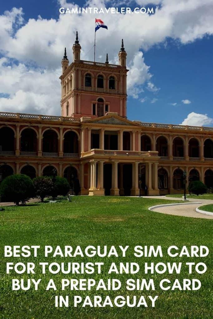 Paraguay sim card, Paraguay prepaid sim card, sim card Paraguay, tourist sim card Paraguay, Paraguay sim card for tourist