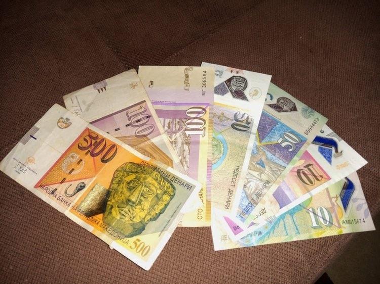 North Macedonia currency exchange