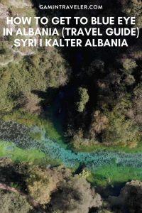 blue eye in albania, Blue Eye Saranda, also called Syri I Kalter Albania, Blue Eye Spring Albania