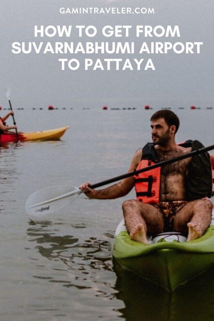 How To Get From Suvarnabhumi Airport To Pattaya