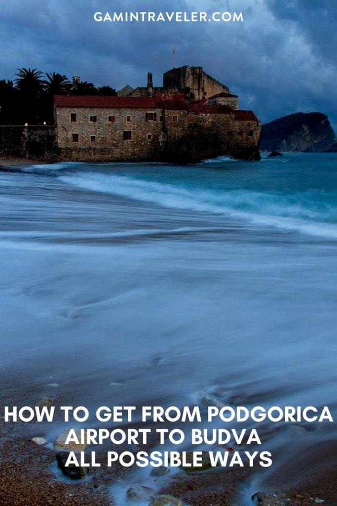 bus Podgorica to Budva, Podgorica to Budva, podgorica airport to Budva, How To Get From Podgorica Airport to Budva