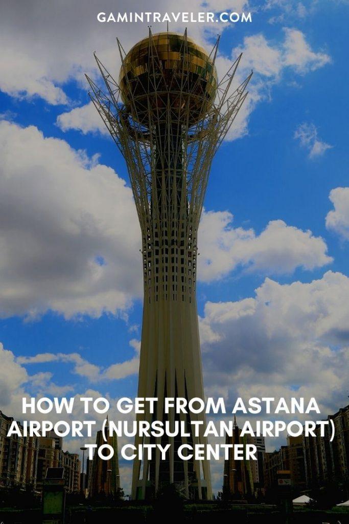 astana airport to city, Nursultan airport to city center, astana airport to city center