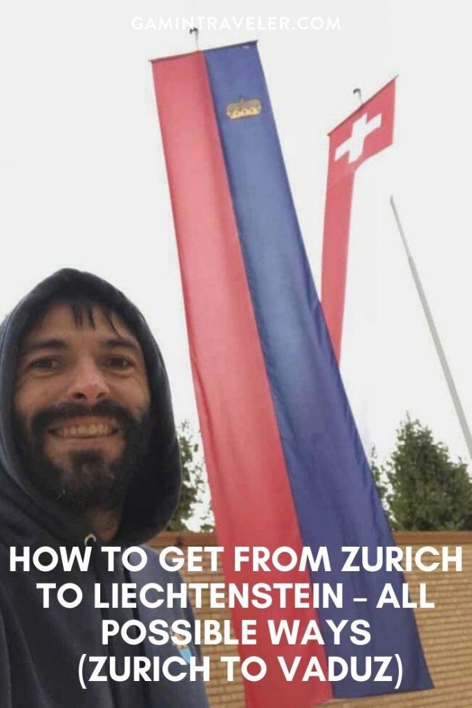 How To Get From Zurich to Liechtenstein - All Possible Ways (Zurich To Vaduz)