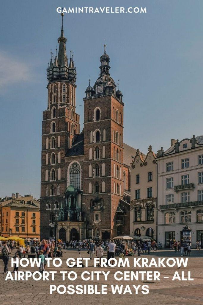 krakow airport to city, krakow airport to city center, airport transfers krakow, krakow airport bus, How To Get From Krakow Airport to City Center