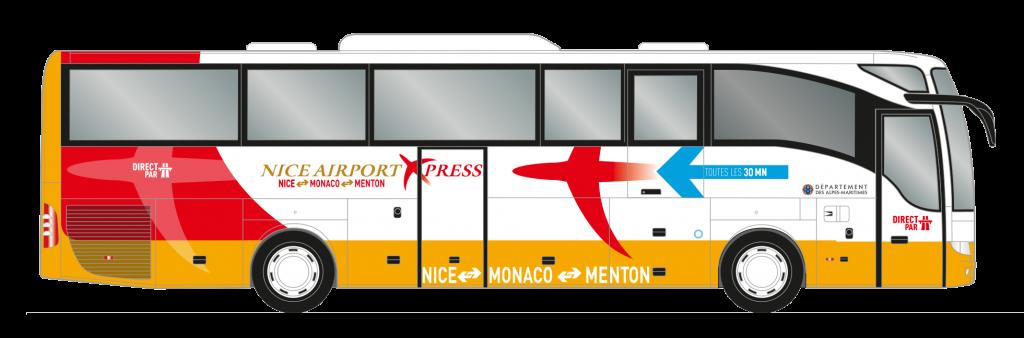 Bus Express Nice Airport to Monaco, nice airport to Monaco, How To Get From Nice Airport To Monaco