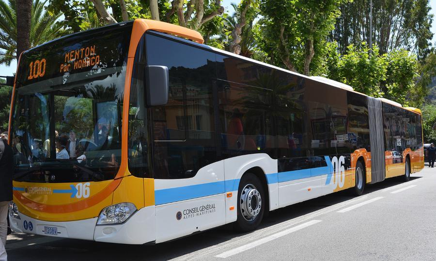 Bus Number 100 Nice to Monaco, Bus nice to Monte Carlo, cheapest way from Nice to Monaco