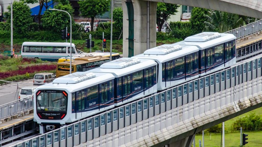 LRT Train (Light Rapid Transit) Macau Airport, Macau airport to city center, Macau airport to city, How To Get From Macau Airport To City Center