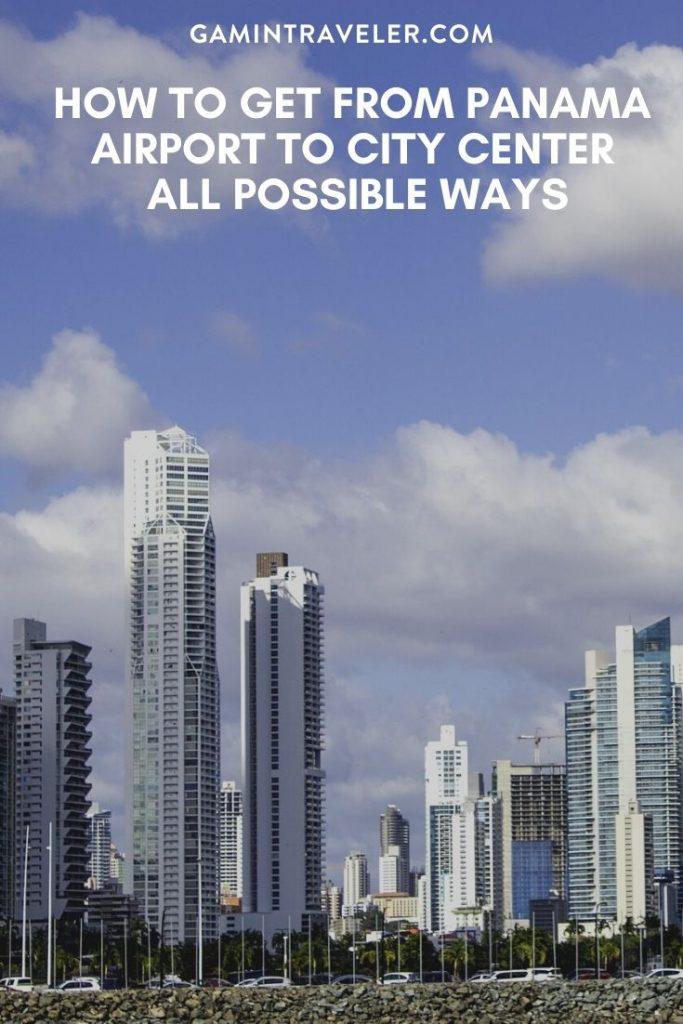 Panama airport to city, Panama airport to city center, How To Get From Panama Airport To City Center