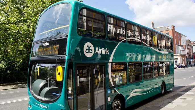 Airlink Dublin Airport, dublin airport to city center, dublin airport to city,  How To Get From Dublin Airport To City Center
