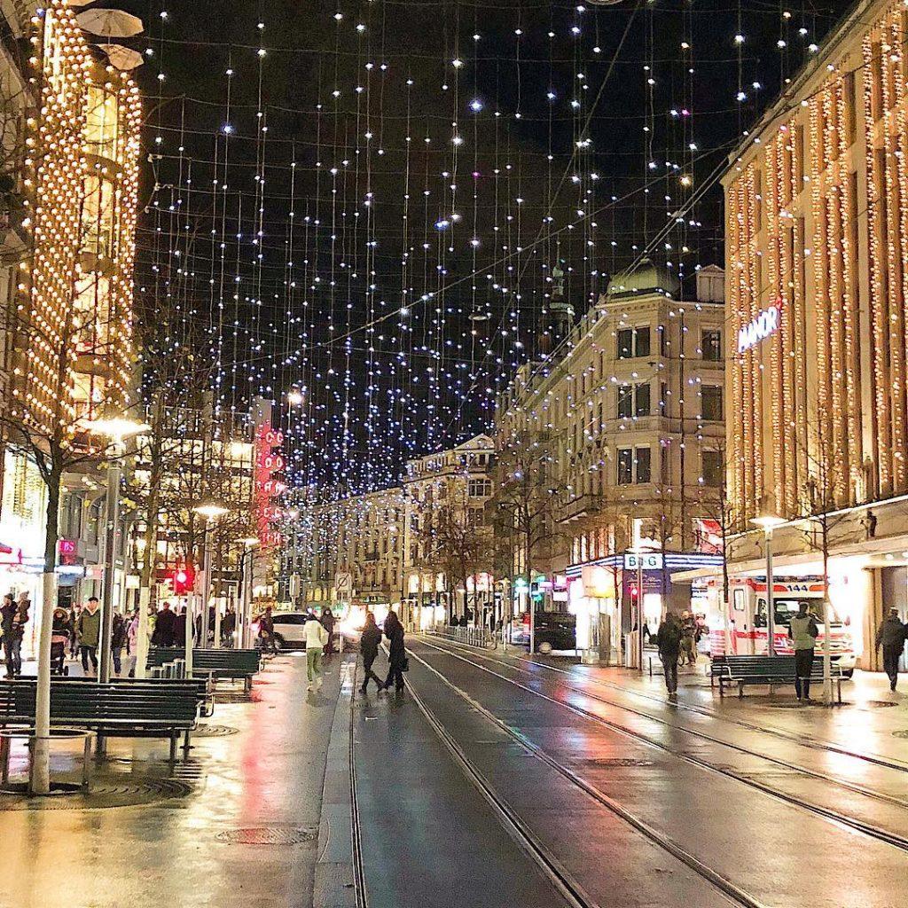Bahnhofstrasse, most instagrammable places in zurich, instagrammable spots Zurich