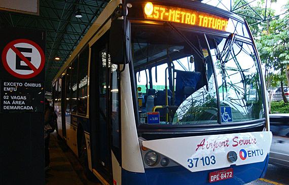 Bus 257  Sao Paulo Airport, Sao Paulo airport to city center, Sao Paulo airport to city, How To Get From Sao Paulo Airport To City Center