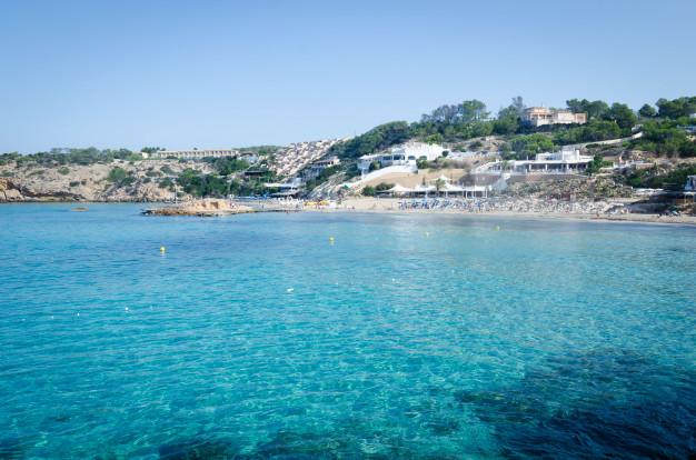 Cala Tarida, instagrammable places in ibiza, Ibiza instagram spots