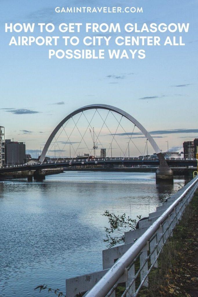 Glasgow airport to city center, Glasgow airport to city, How To Get From Glasgow Airport To City Center
