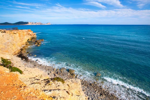 instagrammable places in ibiza, Ibiza instagram spots, Sa Caleta