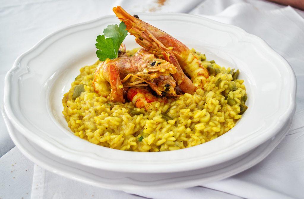 swiss food, switzerland food, swiss cuisine, swiss dishes, switzerland traditional food, Saffron Risotto