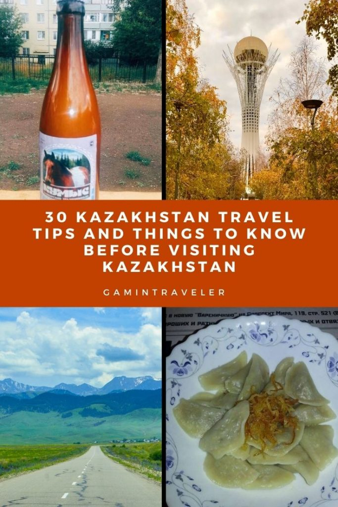 Kazakhstan travel tips, things to know before visiting Kazakhstan, facts about Kazakhstan