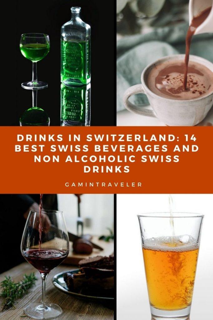 drinks in switzerland, swiss beverages, swiss drinks, non alcoholic Swiss drinks