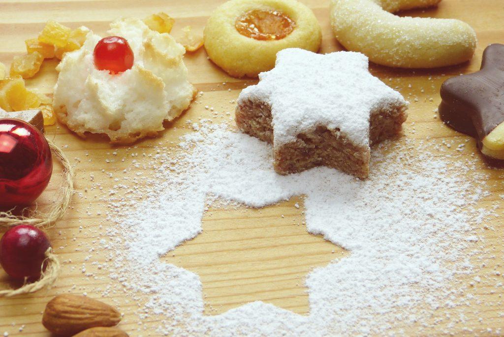 swiss breakfast, breakfast in Switzerland, Zimtsterne Cinnamon Cookies