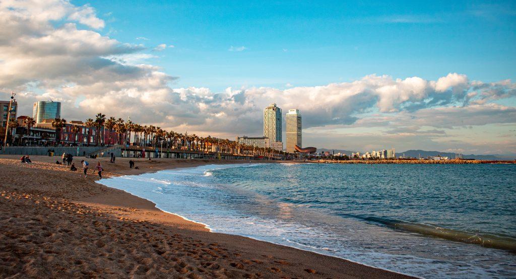 best beaches in Spain, Bogatell, Barcelona