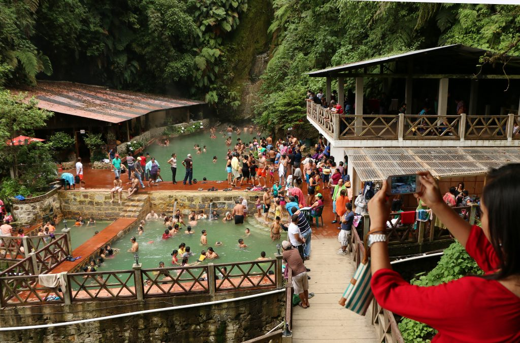 most instagrammable places in Guatemala, instagrammable spots Guatemala, Fuentes Georginas