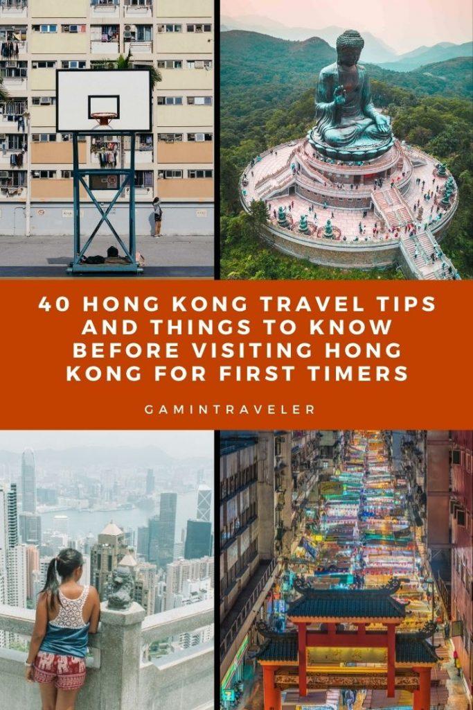 Hong Kong Travel Tips, things to know before visiting Hong Kong, facts about Hong Kong