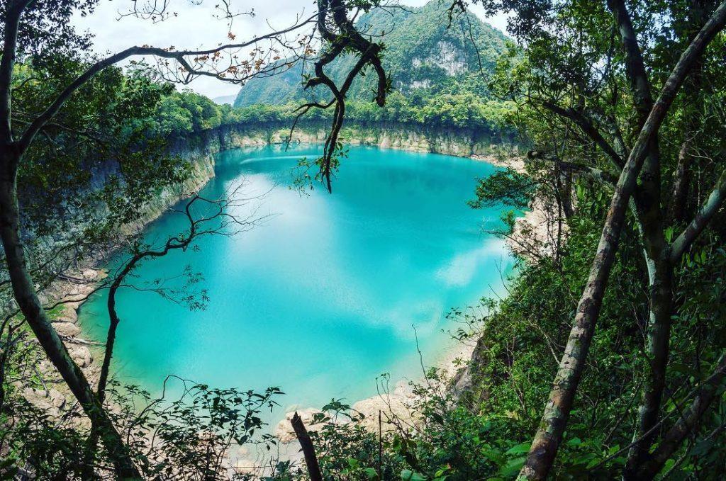 most instagrammable places in Guatemala, instagrammable spots Guatemala, Laguna Brava in Huehuetenango