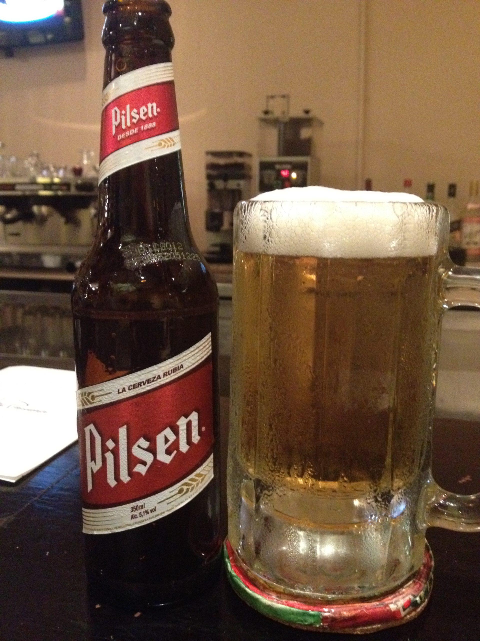 Costa Rican drinks, drinks in Costa Rica, Costa Rican Beverages, beers in Costa Rica, Pilsen Beer in Costa Rica