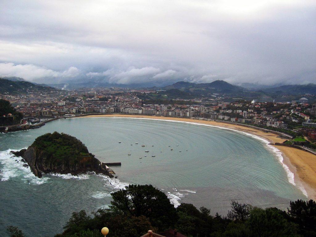 San Sebastian La Concha, best beaches in Spain