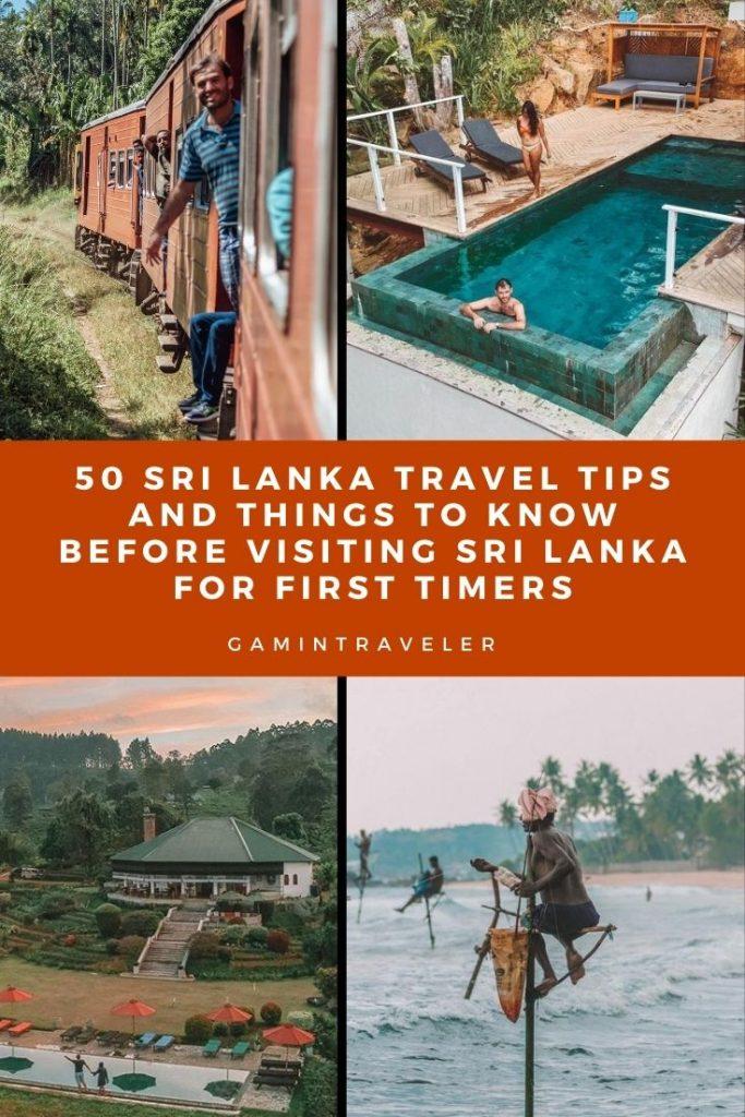 Sri Lanka travel tips, things to know before visiting Sri Lanka, facts about Sri Lanka