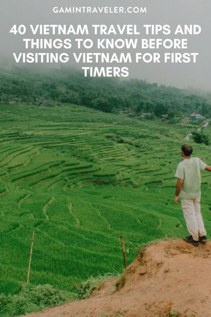 Vietnam travel tips, things to know before visiting Vietnam, facts about Vietnam