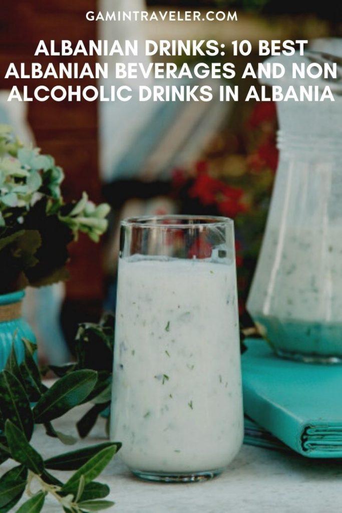 Albanian drinks, drinks in Albania, Albanian Beverages, beers in Albania