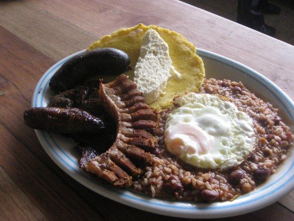 Calentado, food in Colombia, Colombian food, traditional food in Colombia, Colombian dishes, Colombian cuisine
