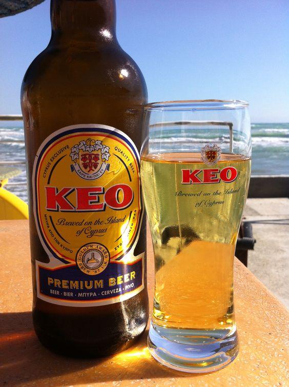 Cypriot drinks, drinks in Cyprus, Cypriot Beverages, beers in Cyprus, KEO Beer