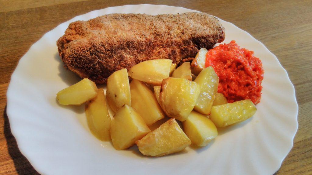 Serbian food, Serbian cuisine, food in Serbia, Serbian dishes, traditional food in Serbia, Karađorđeva šnicla (Karadjordje's schnitzel)