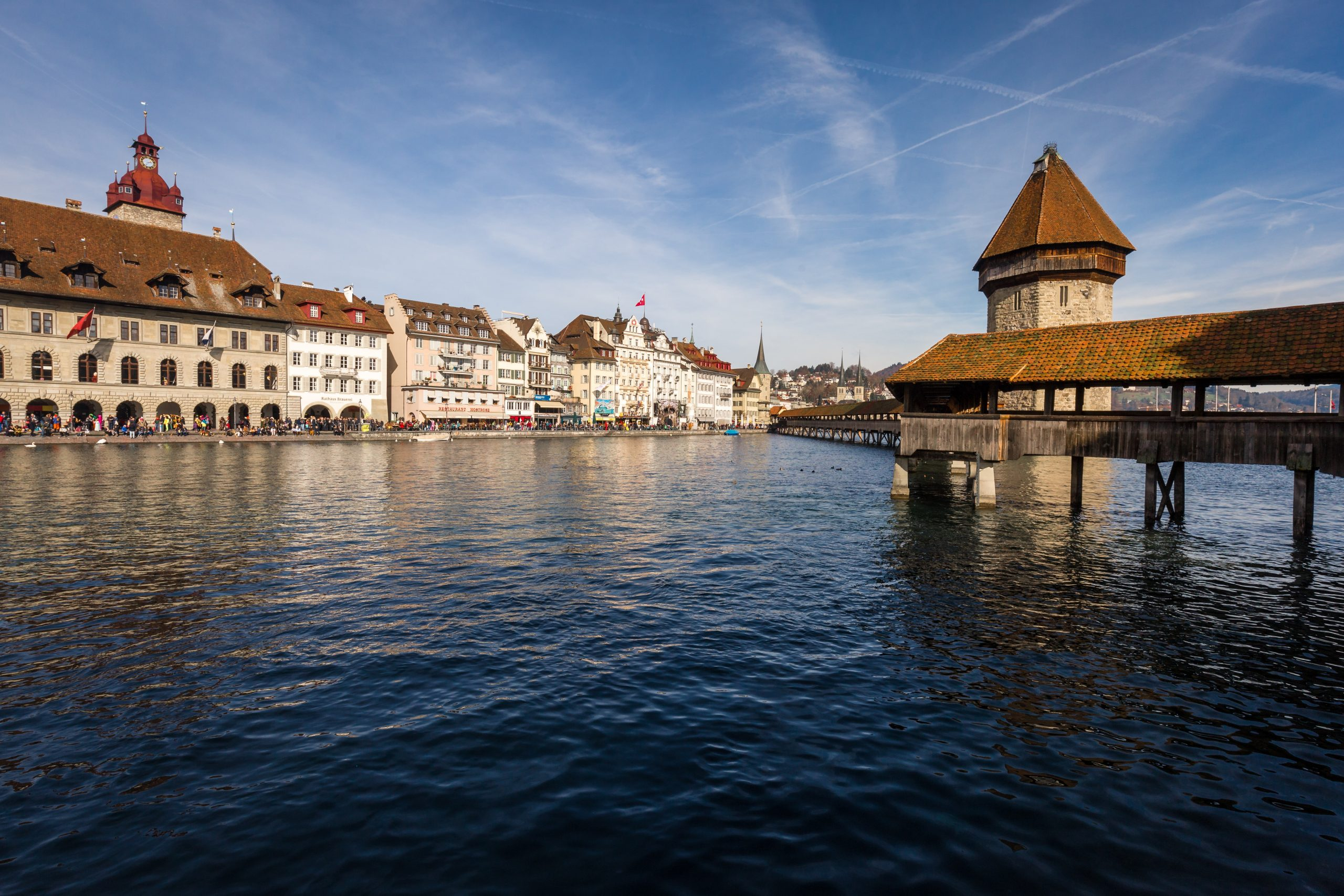How To Get From Zurich Airport To Lucerne - All Possible Ways