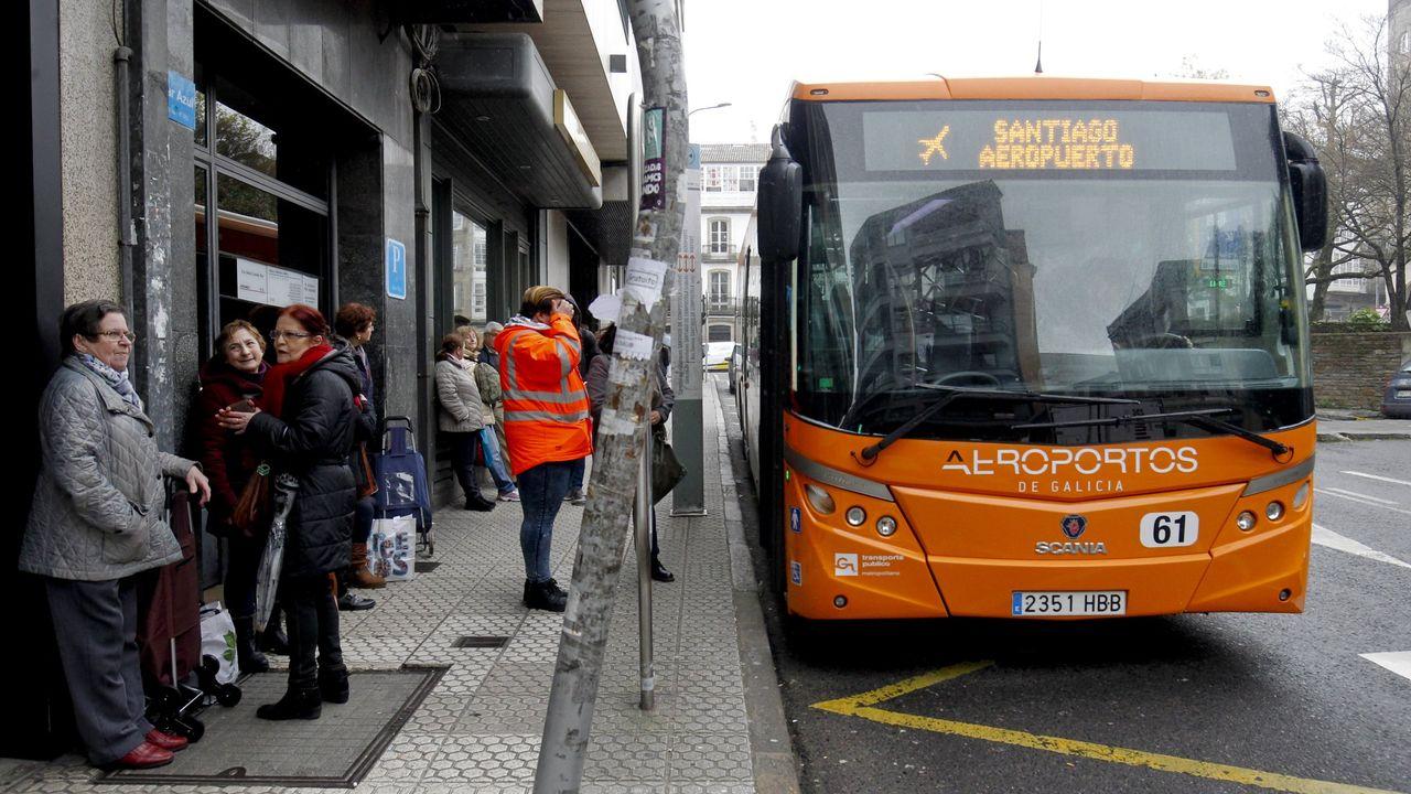 Santiago de Compostela Airport Bus, How To Get From Santiago de Compostela Airport To City Center - All Possible Ways