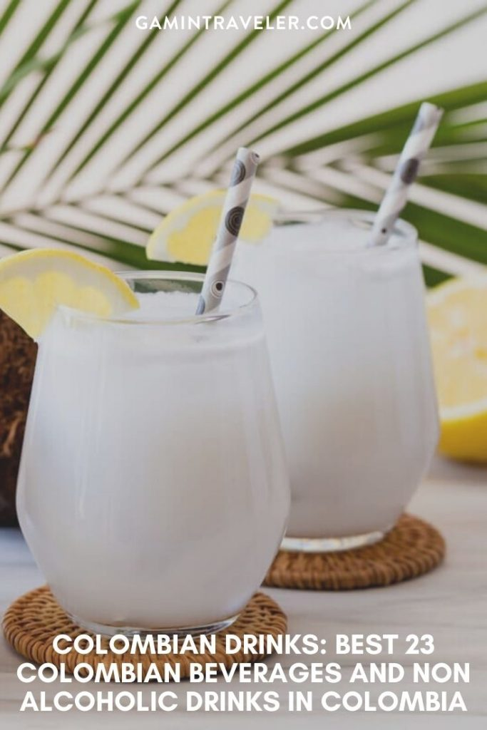 colombian drinks, traditional colombian drinks, colombian beverages, drinks in colombia
