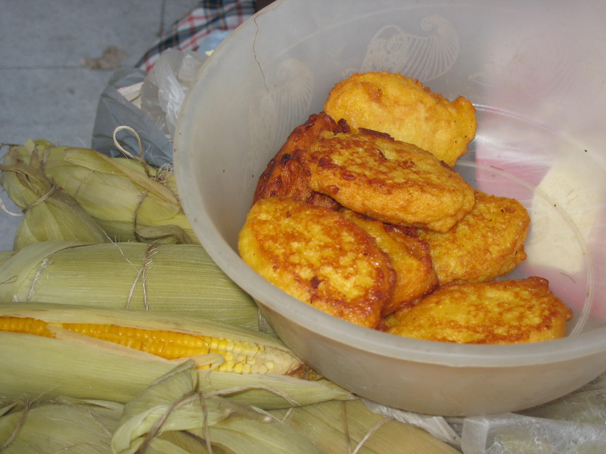 Corn Fritters, vegetarian food in bahamas, vegan food in bahamas, bahamas vegetarian dishes, vegan in bahamas, vegetarian in bahamas