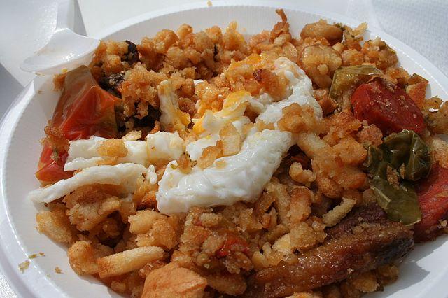 Migas, Spanish Food, spanish cuisine, traditional spanish food, food in Spain, Spanish dishes