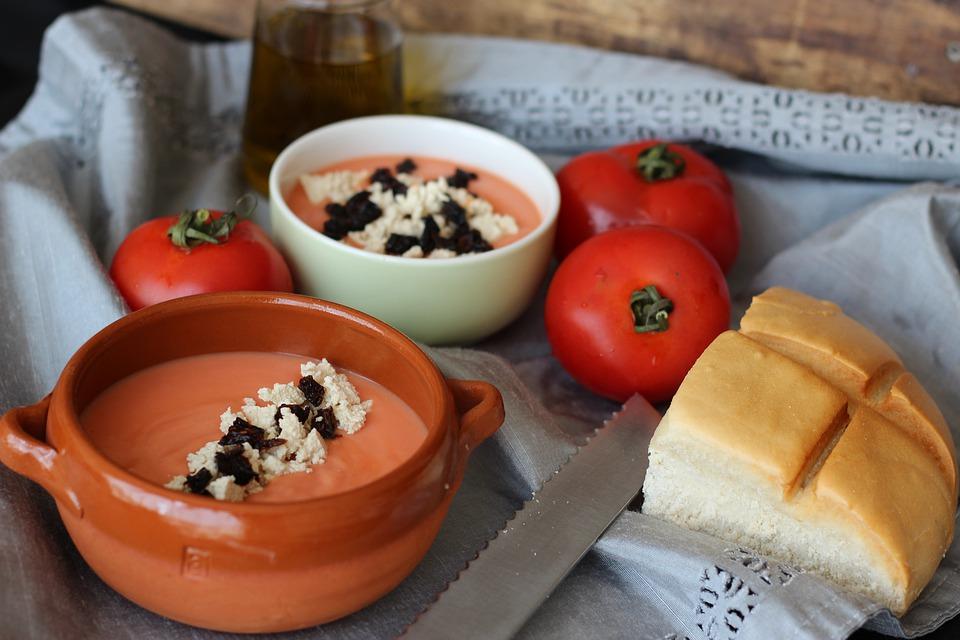 Salmorejo, Spanish Food, spanish cuisine, traditional spanish food, food in Spain, Spanish dishes