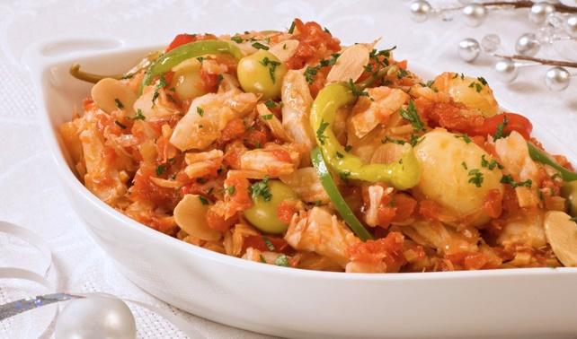 Bacalao con Papas, Panamanian Food, Panamanian cuisine, Traditional Panamanian Food, food in Panama, Panamanian dishes