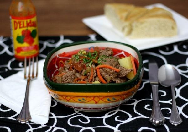 Carne Guisada, Panamanian Food, Panamanian cuisine, Traditional Panamanian Food, food in Panama, Panamanian dishes
