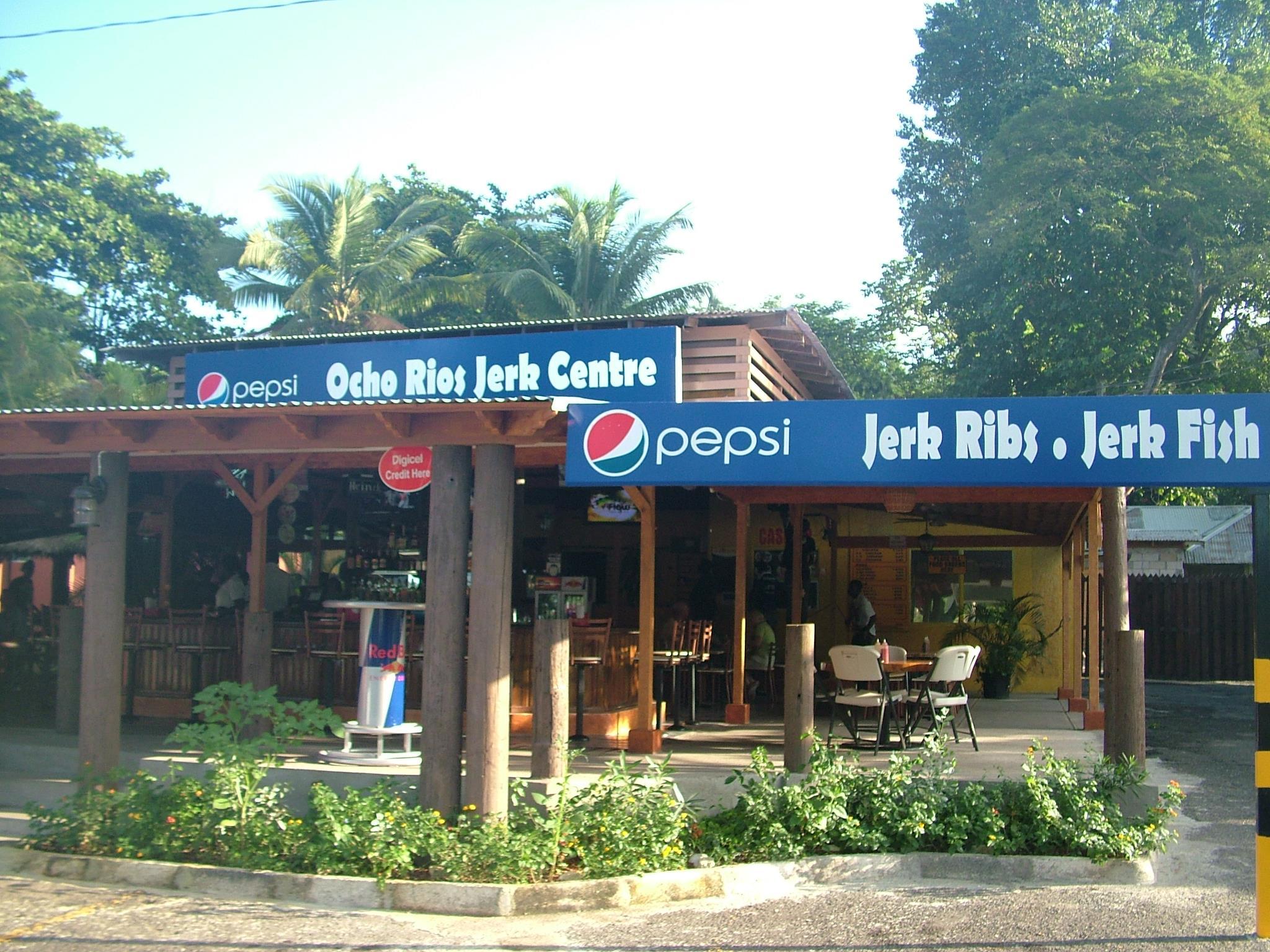 restaurants in ocho rios 2400, best restaurants in ocho rios 170, ocho rios food, where to eat in ocho rios, Ocho Rios Jerk Centre
