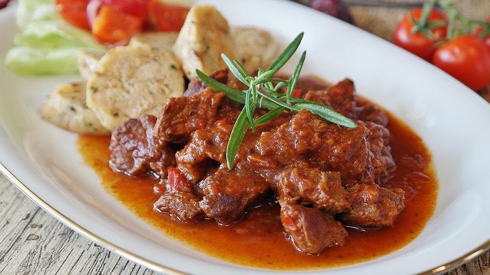 German Food, German cuisine, Traditional German Food, food in Germany, German dishes, Goulash
