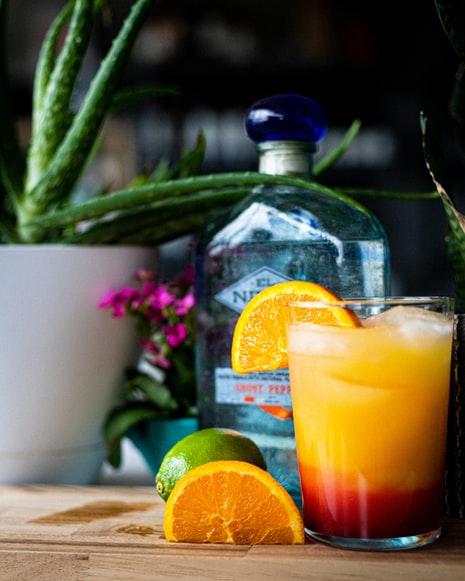 Traditional Mauritian drinks, Mauritius drinks, traditional drinks in Mauritius, Mauritian drinks, tequila sunrise